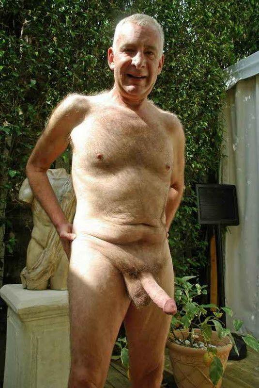 Sexy Nude Mature Men