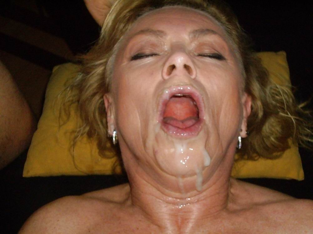 Naked Bbw Cum Faced
