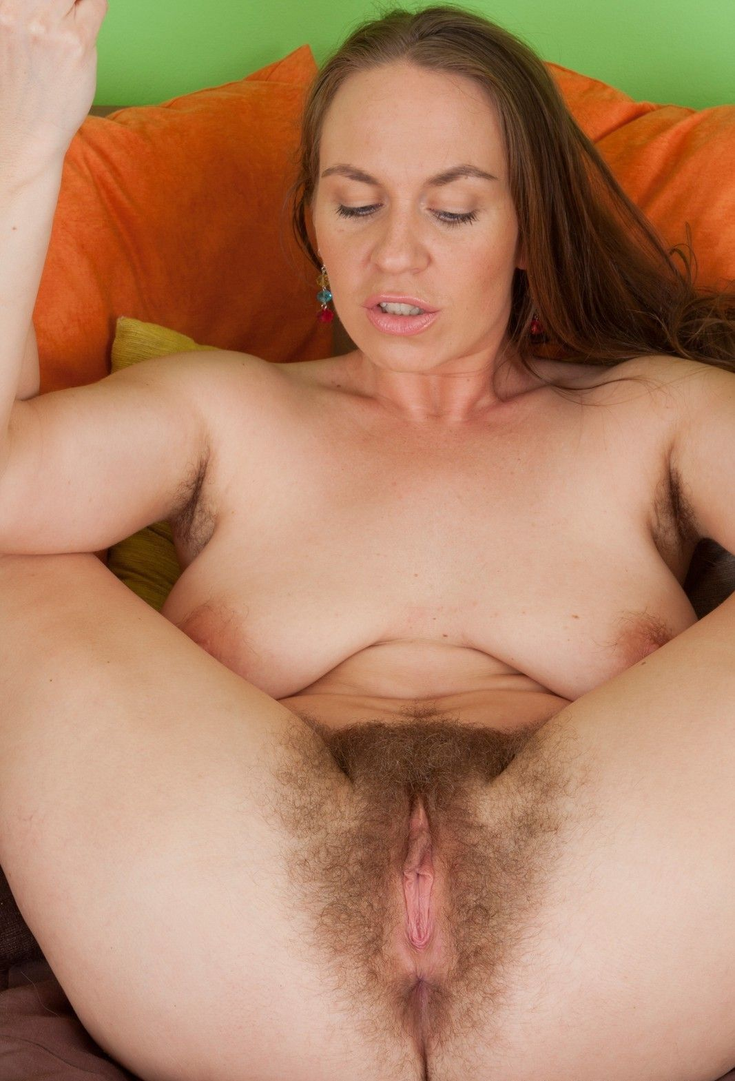 hairy nipples Big tits with