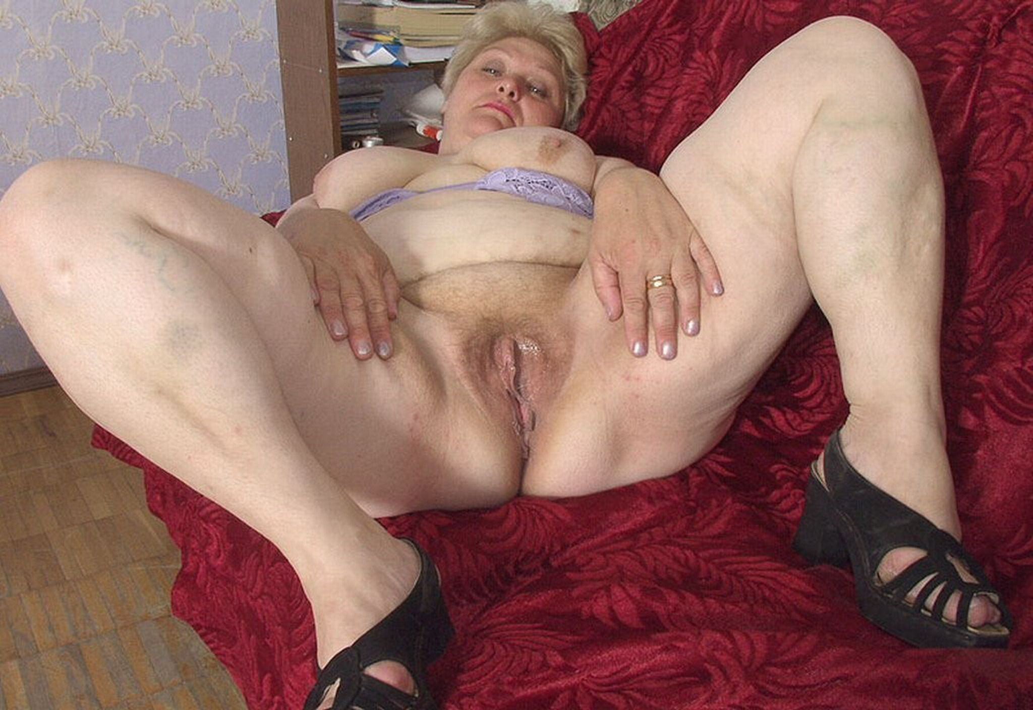 Hd granny nude sex video